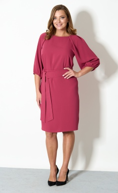 Dress STEFANY 830 rozovoe