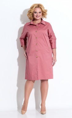 Dress STEFANY 429 terrakot