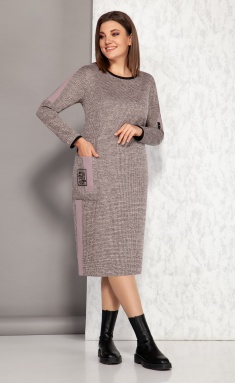 Dress KARINA DELUX M-9940 roz
