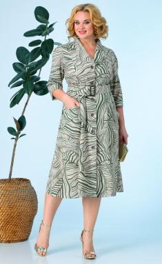 Dress Anastasia 618 oliva