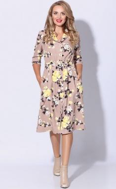 Dress LeNata 11080 rozy