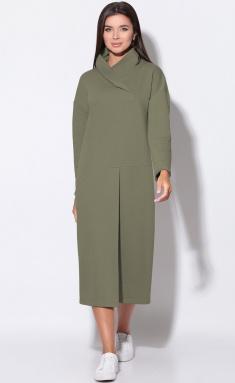 Dress LeNata 11156 xaki