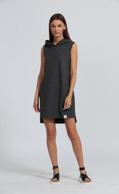 Dress Kivviwear 4028 temno-seryj melanzh
