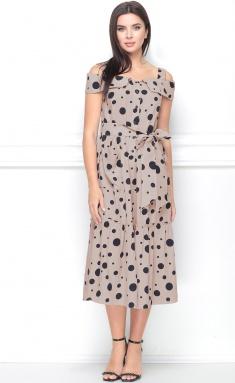 Dress LeNata 11115 kapuchino v gorox