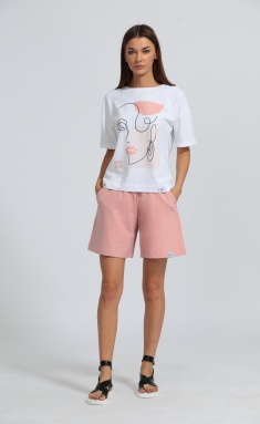 Shorts Kivviwear 4027.06 rozovyj