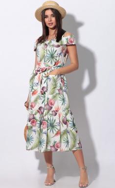 Dress LeNata 11115 fruktovyj sad