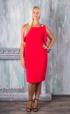 Dress Avila 0543 korallovyj