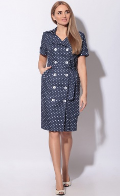 Dress LeNata 11015 na sinem gorox