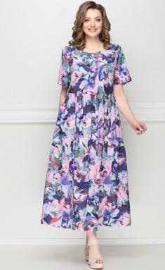 Dress LeNata 13025 fioletovye cv