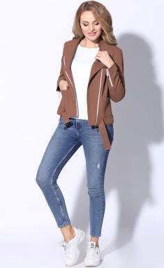 Jacket LeNata 11105 korichn