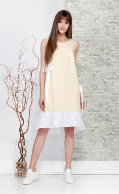 Dress Ivelta plus 1642 zheltyj