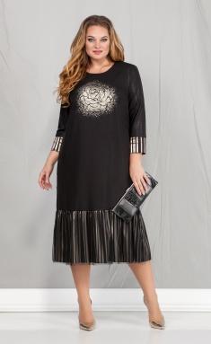 Dress Ivelta plus 1670 chern/zol