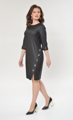 Dress Roma Moda M156 grafit