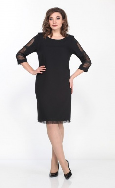 Dress Vilena-fashion 537 chern