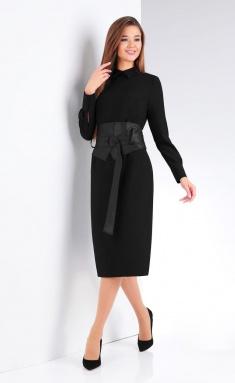 Dress Vilena-fashion 656 chern