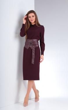 Dress Vilena-fashion 656 vin