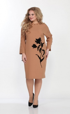 Dress Vilena-fashion 680 bezh