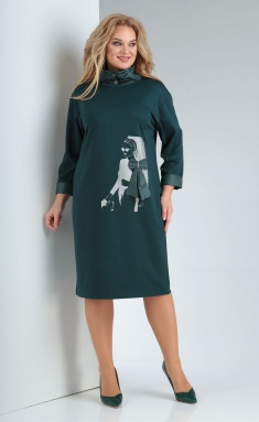 Dress Vilena-fashion 682 zel