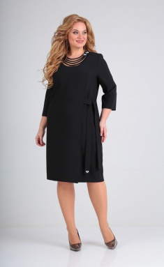 Dress Vilena-fashion 686 chern