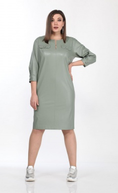 Dress Vilena-fashion 687 sv.zel