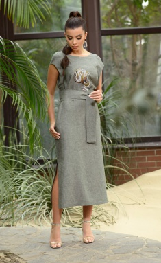 Dress Galean Style 802 xaki