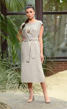 Dress Galean Style 802 bezh