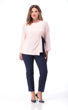 Blouse Djerza 0210-1 pudr