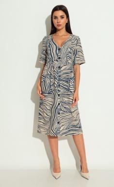 Dress Michel Chic 2004/1 bezh/sin