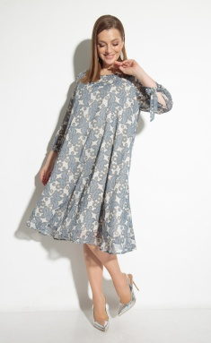 Dress Sale 2049 bezh-gol