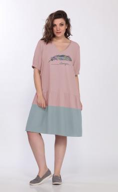 Dress LS 3677 roz