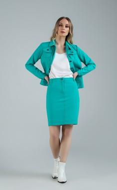 Skirt MARIKA 401/2 biryuza