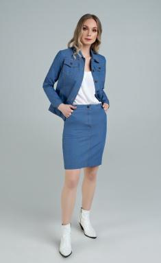 Skirt MARIKA 401/2 goluboj