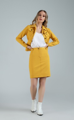Skirt MARIKA 401/2 gorchica
