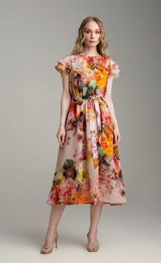 Dress MARIKA 421 cvet