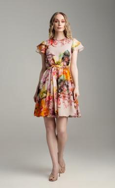 Dress MARIKA 422 cvet