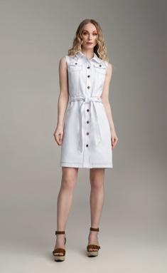Dress MARIKA 427 belyj