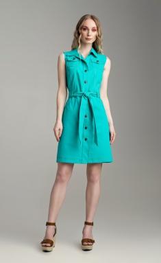Dress MARIKA 427 biryuza