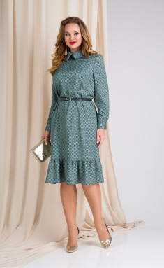 Dress Liliana 889L izumr