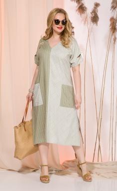Dress Liliana 944N oliv