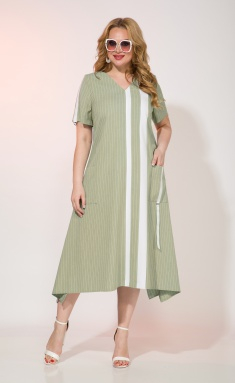 Dress Liliana 967 oliv