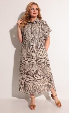 Dress Michel Chic 993 bezh/kor