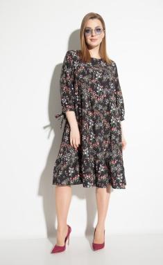 Dress Michel Chic 994 cherno-roz