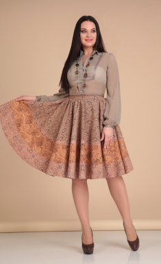Skirt Lady Line 419 bezh
