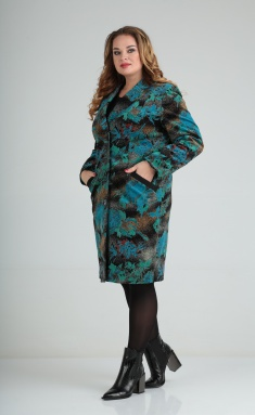 Coat Lady Line 486 chern-bir