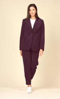 Suit Roma Moda M617 bordo
