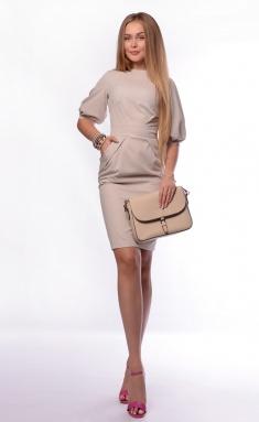 Dress La Café by PC NY1305-4 bezh
