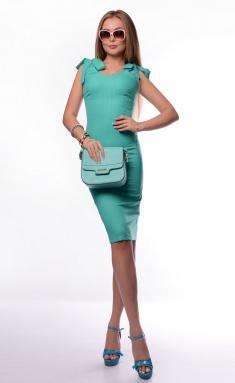Dress La Café by PC NY1306-7 svetlo-zel