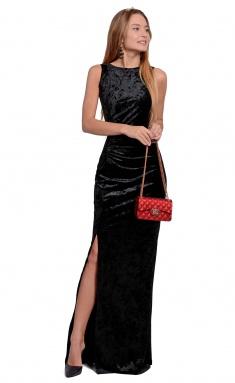 Dress La Café by PC NY1368-2 is.chern,antracitovyj