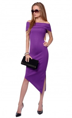 Dress La Café by PC NY1375-1 fiol