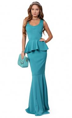 Dress La Café by PC NY1385-4 izumr